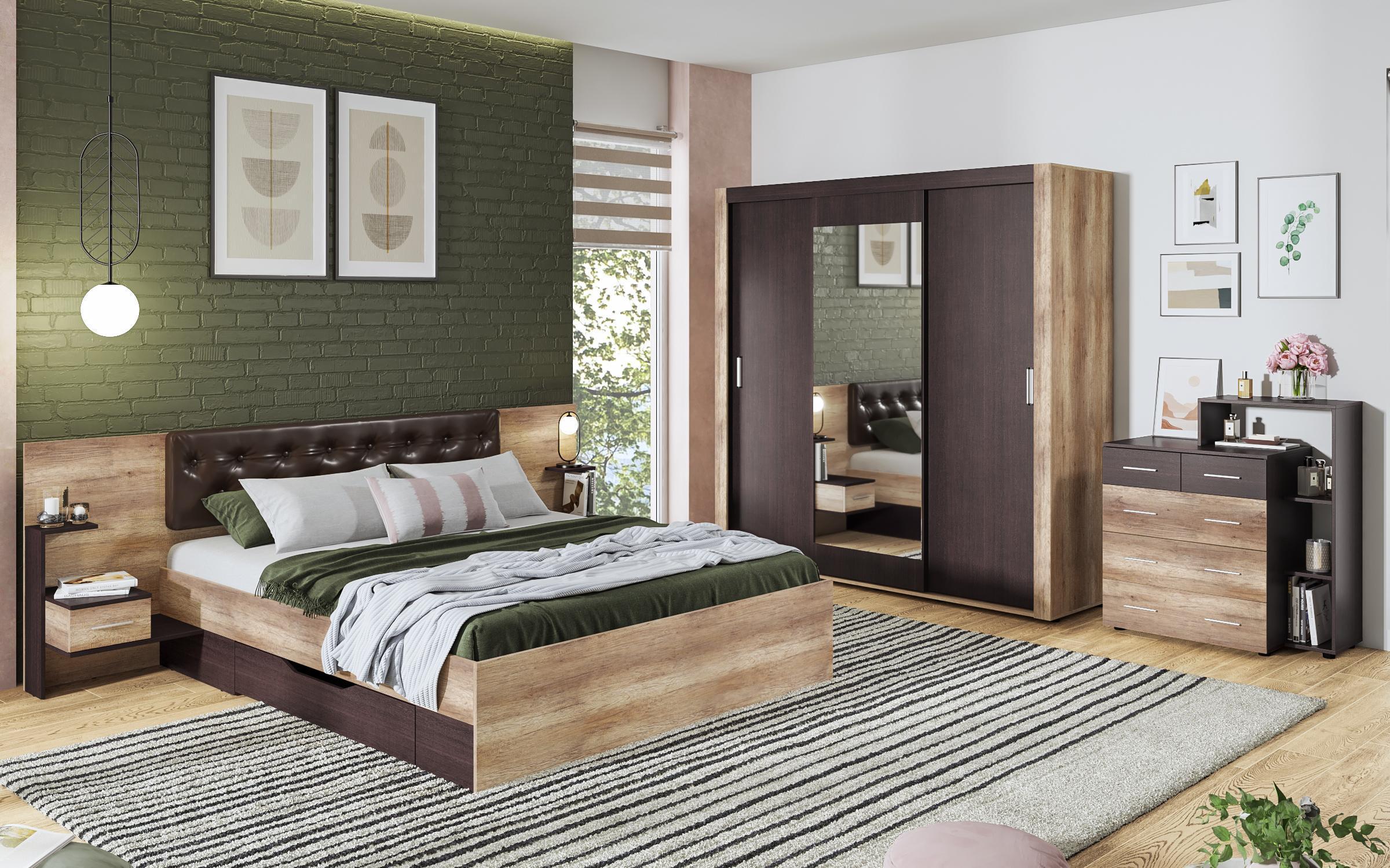 Спален комплект Сандеро