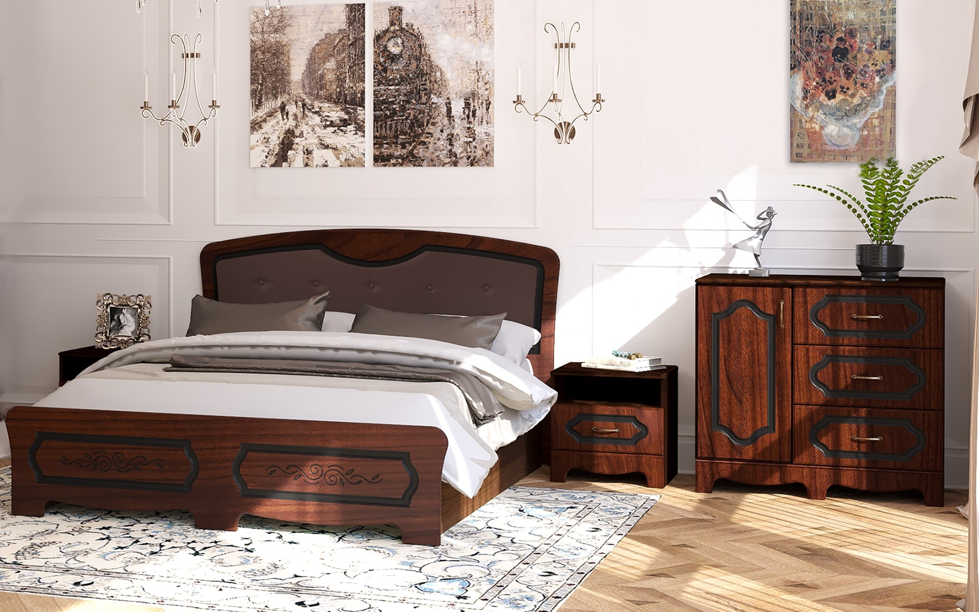 Спален комплект Верма