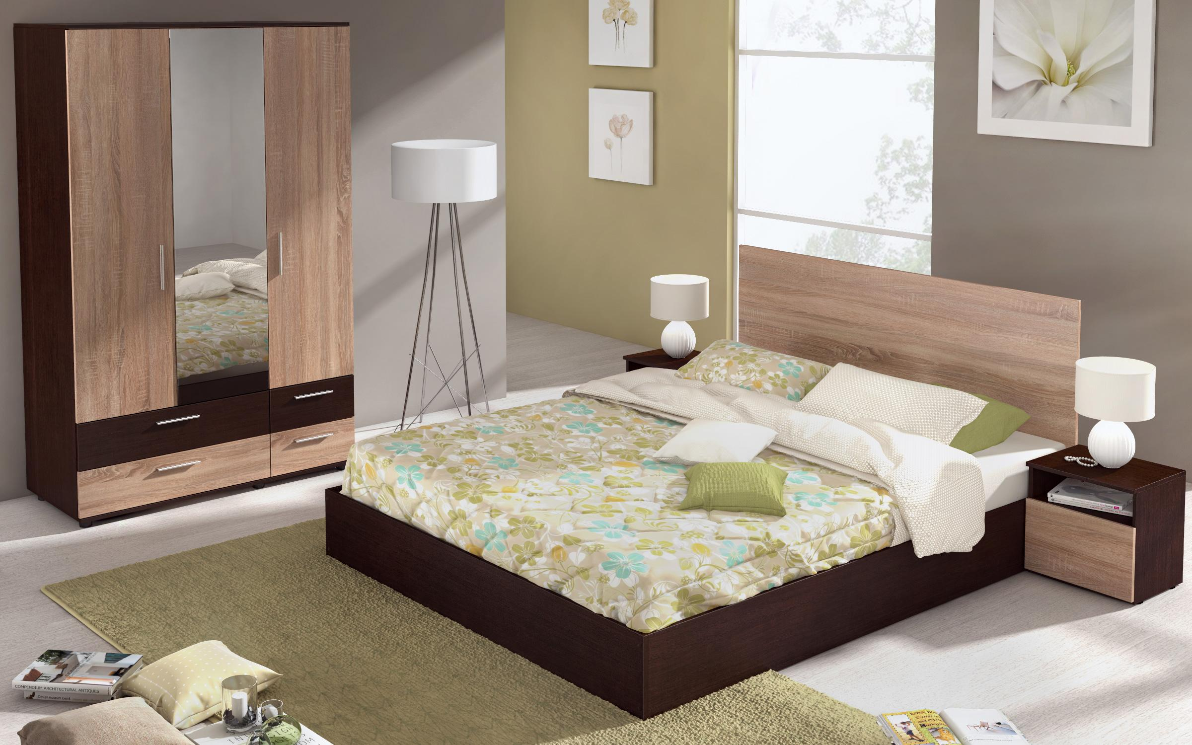Спален комплект Миднайт